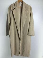 コート/36/ウール/BEG/無地/11820010/18AW/Shaggy Over Coat