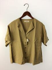 2019SS Collarless Rough Shirts(カラーレスラフシャツ)/FREE/BEG/トゥデイフル