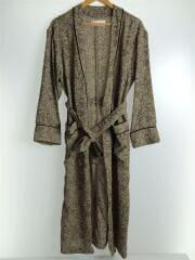 コート/36/ポリエステル/BRW/総柄/11920004/Jacquard Piping Gown