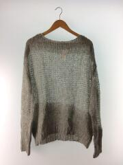 19AW/Mohair Lowgauge Knit/FREE/モヘア/GRY/11920537