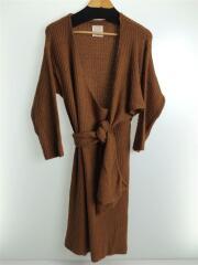 ワンピース/FREE/ナイロン/BRW/無地/11720325/Cache-coeur Knit Dress