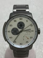 クォーツ腕時計/アナログ/ステンレス/WHT/SLV/CA.17.2.34.1467/クロノグラフ