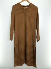 ワンピース/36/--/BRW/無地/MLF19210/ linea long shirts
