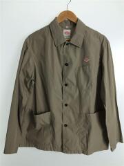 カバーオール/40/コットン/BEG/コットンポプリンカバーオールシャツジャケット/18S-T84-002