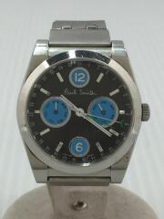 クォーツ腕時計/アナログ/ステンレス/ポールスミス/GN-4-S