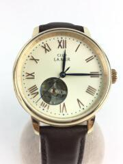 CLUB LA MER/自動巻き腕時計/アナログ/レザー/BRW:ブラウン/8229-S108527