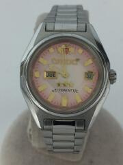 スリースター/型番:NQIV-01自動巻腕時計/アナログ/ステンレス/PNK/SLV