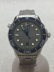 コーアクシャルマスタークロノメーター42MM/自動巻腕時計/アナログ/ステンレス/BLU/SLV/Seamaster Diver