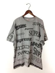 Tシャツ/XL/コットン/GRY