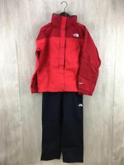 セットアップ/L/ナイロン/RED