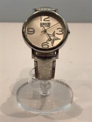腕時計/アナログ/SLV/SLV