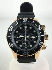 PROSPEX/プロスペックス/V175-0AD0/ソーラー腕時計/アナログ/ラバー/BLK/BLK