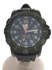 SERIES 4220/A.N.U./クォーツ腕時計/アナログ/ラバー/BLK/BLK