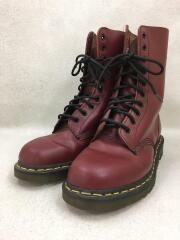 10ホール/ブーツ/UK8/BRD/レザー