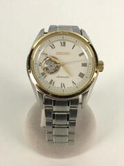 自動巻腕時計/アナログ/ステンレス/GLD/SLV/4R38-00W0