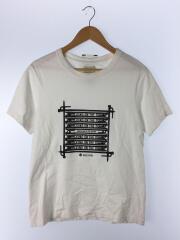 Tシャツ/M/コットン/WHT/プリント/アウトドア/×URBAN RESARCH DORRS/カットソー/