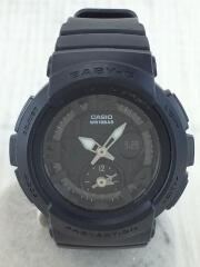 腕時計/アナログ/BLK/BLK/BGA-190BC/Baby-G/ベイビーG/ビーチトラベラー/黒