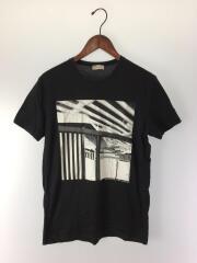Tシャツ/S/コットン/BLK/2008/215199 TQ928/ォサンゼルスプリント/プリントTシャツ/