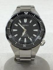 自動巻腕時計/アナログ/ステンレス/BLK/プロスペックス ダイバースキューバトランスオ-シャン