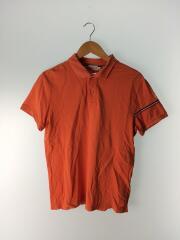 ポロシャツ/L/コットン/ORN/無地/半袖/トップス/鹿の子/メンズ/ブランドロゴ