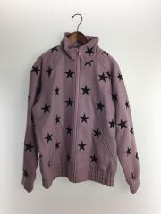 16AW/Stars Zip Stadium Jacket/ジャケット/L/コットン/PUP/総柄