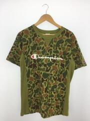 C3-H372/Tシャツ/XL/コットン/KHK/カモフラ/