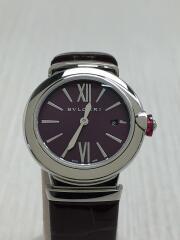 クォーツ腕時計/ルチェア ウォッチ/アナログ/レザー/PUP/BRD
