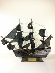 ◆木製帆船模型 海賊船/BLK