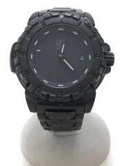 ルミノックス/クォーツ腕時計/アナログ/BLK/BLK/ナイトホーク6400