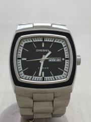 ディーゼル/クォーツ腕時計/アナログ/ステンレス/ブラック/シルバー/DZ-4064