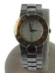 1N01-0L80/クォーツ腕時計/アナログ/ステンレス/シルバー/SLV/ゴールド