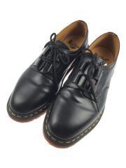 ドレスシューズ/UK9/ブラック/1461/GHILLIE/22695001/箱有/革靴/黒/BLK