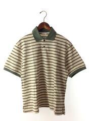 19SS/COTTON BORDER POLO SHIRTS/ポロシャツ/1/19SUC04/ベージュ/コットン