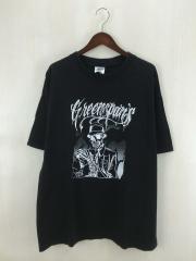 Greenspans/Tシャツ/XL/コットン/ブラック