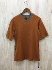 半袖カットソー/Tシャツ/FREE/ウール/ORN/無地