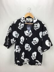 半袖シャツ/2/コットン/BLK/19S14/KEEFS FRIED SHRIMP SHIRT/19SS