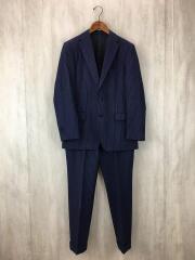 スーツ/--/ウール/NVY/ストライプ/セットアップ/ネイビー