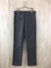 ボトム/M/41-0380/SaltandPepper Hairy Cotton Acrylic Pant Slim