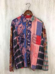 シャツ/2/マルチカラー/リメイクシャツ
