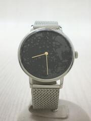 クォーツ腕時計/アナログ/BLK/DF-9020-11/ブラック