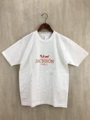 JACKSON PARIS TEE/M/コットン/WHT