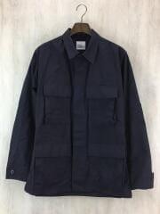 black357/リップストップ/97年/S-R/ミリタリージャケット/S/ナイロン/BLK/無地