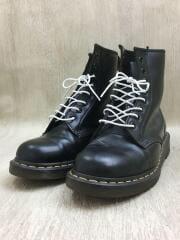 ブーツ/US9/BLK/レザー