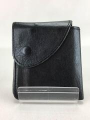 財布/レザー/BLK/無地/ユニセックス
