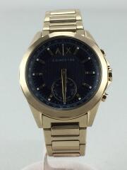 クォーツ腕時計/アナログ/ゴールド/AXT1008