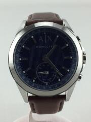 腕時計/--/--/ブルー/ブラウン