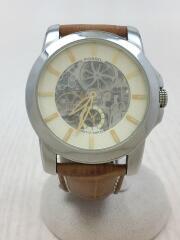 自動巻腕時計/アナログ/レザー/M1026