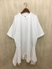 ワンピース/M/コットン/ホワイト/無地/19SS/ドレス/変形