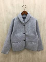 フリースジャケット/L/ポリエステル/グレー/90s