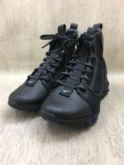 ブーツ/25.5cm/ブラック/レザー
